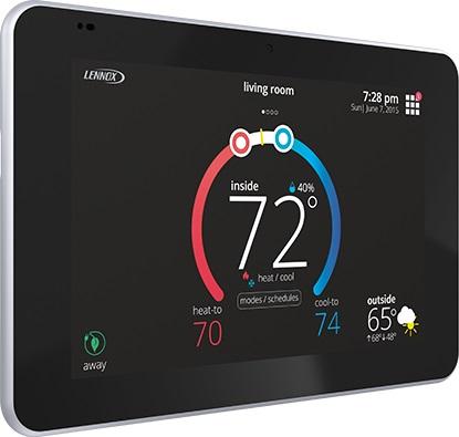 iComfort S30 Wi-Fi Thermostat c/w Smart Hub on