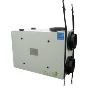 Nu-Air HRV with door ports, straps, one door access