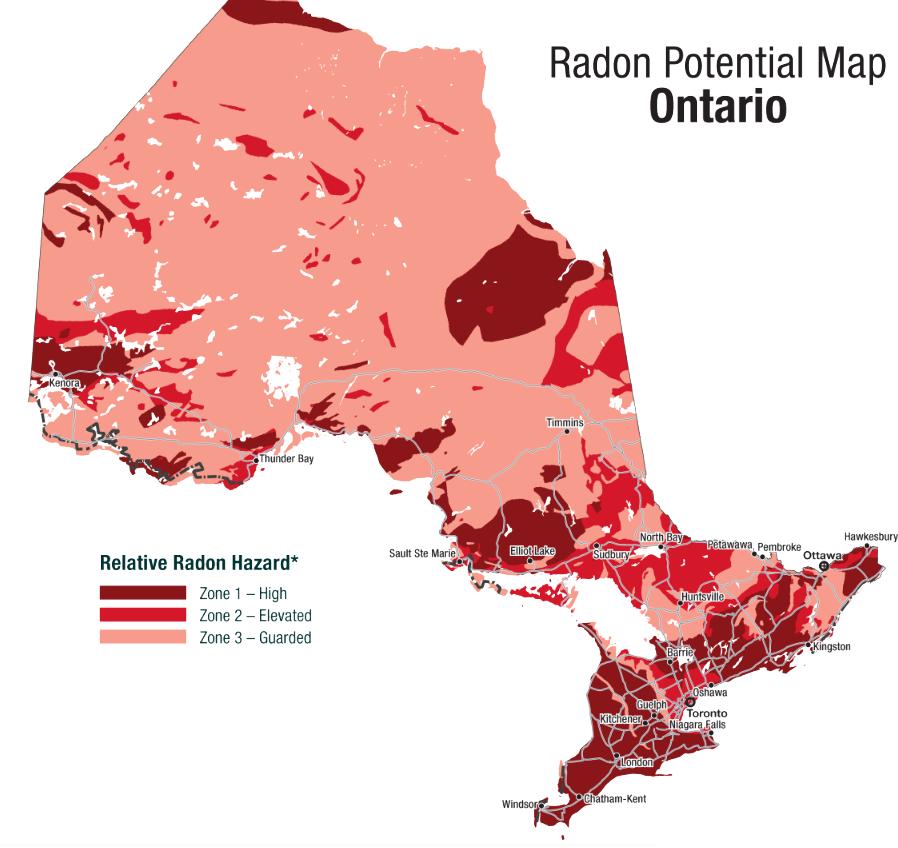 Radon Gas Test Kit 4 Pack Gasexperts