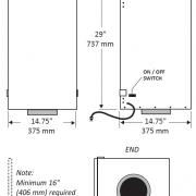 TFP3000HEPA-dimensions